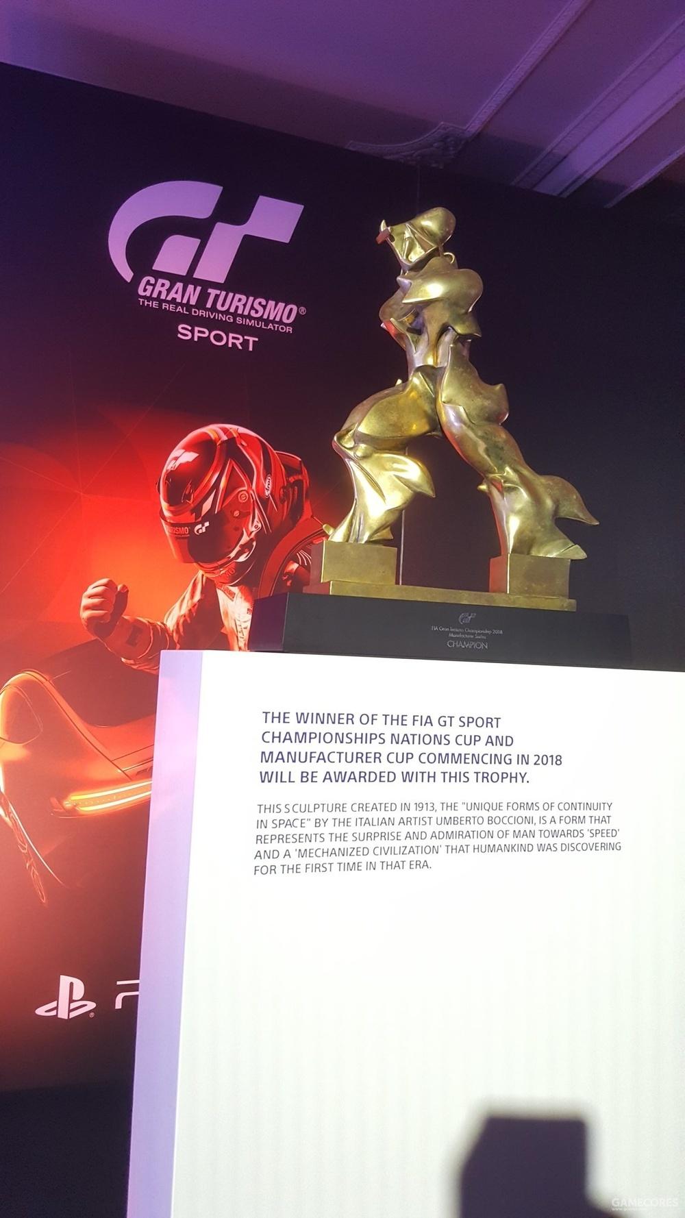 FIA GT 锦标赛奖杯
