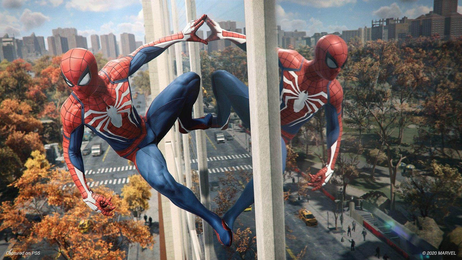 索尼公布PS5《漫威蜘蛛侠 复刻版》游戏表现详情