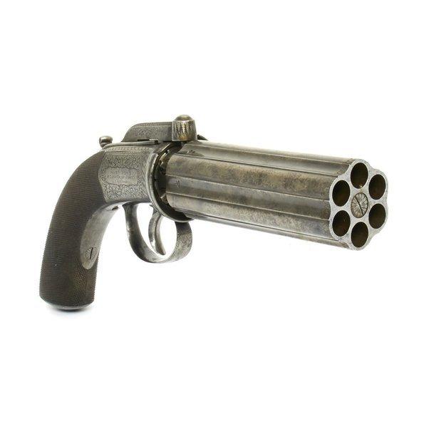 多管胡椒盒手枪,玩过《刺客信条:大革命》的人应该记得类似的多管武器