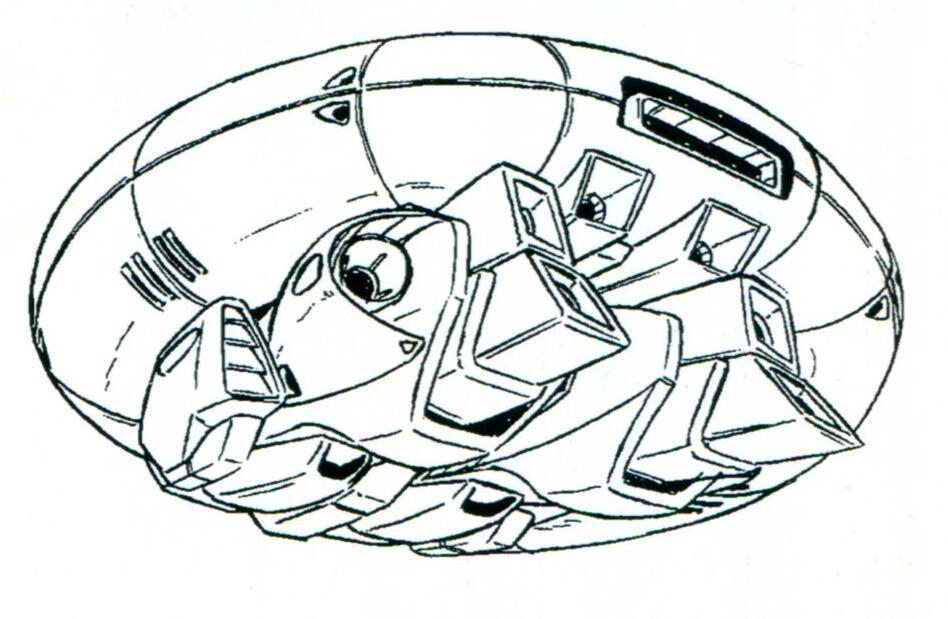 变形为MA后,机体由腿部的热核喷气发动机提供主要推力。而进气口则位于股关节两侧。