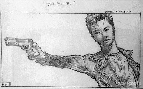 《Drifter》草稿分镜