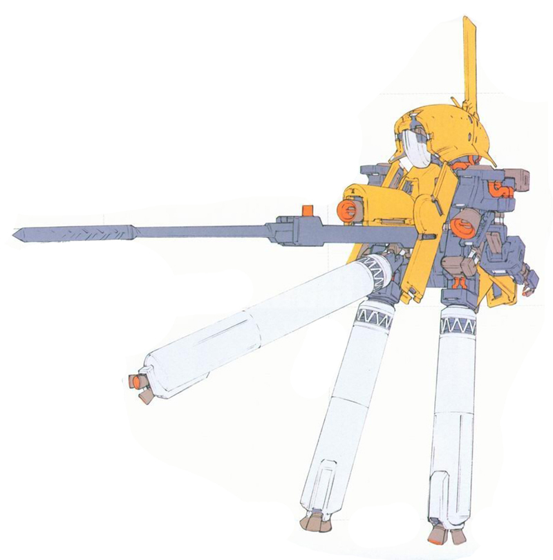 NRX-044原型机下半身最开始是简单的推进器结构。含有主推进器的下半身将在较为复杂的上半身结构测试完成后再安装到原型机上。