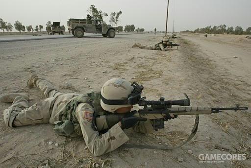 另一个使用ALICE弹匣包装M21步枪弹匣的例子,因为当时配套的DMR步枪弹匣包数量不足