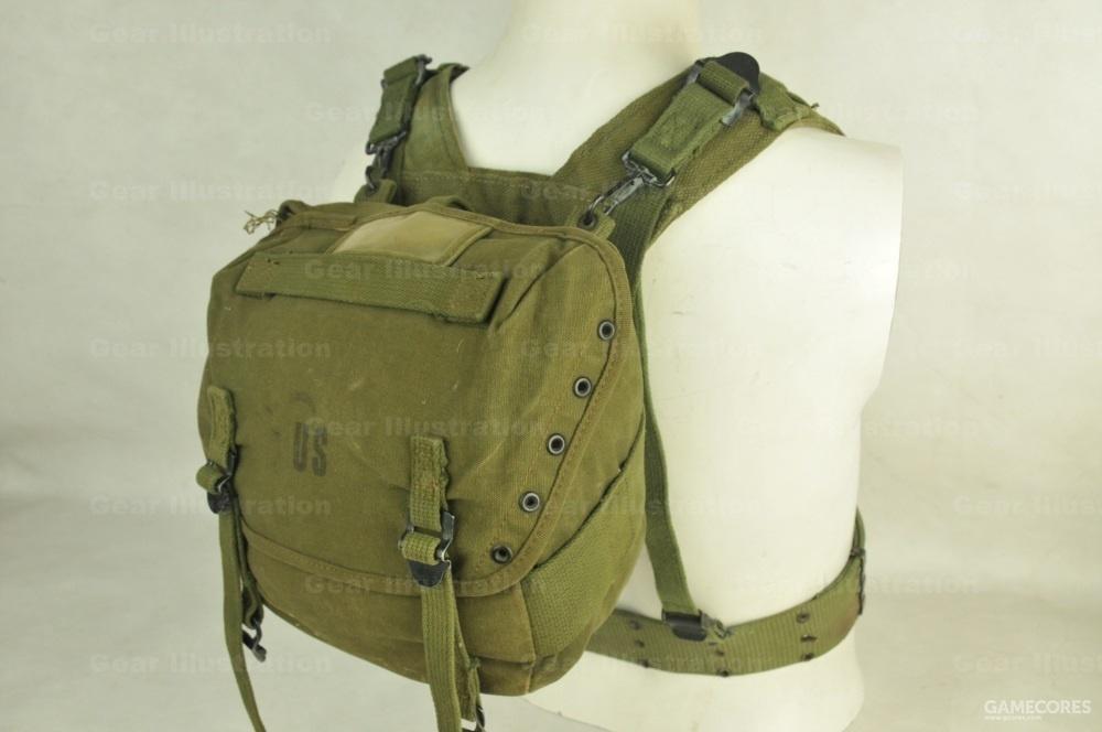 屁股包提升带的用法,可以把屁股包提升到后背位置背负携带