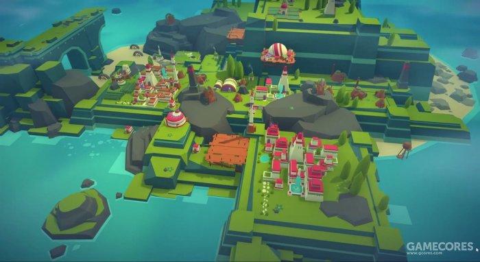 《ISLANDERS》:小巧精致的城市模拟游戏