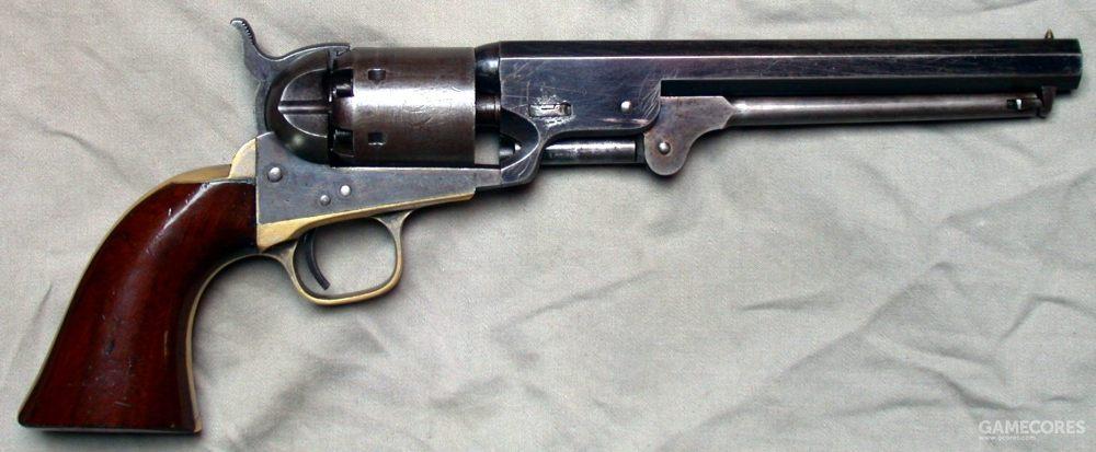 柯尔特1851转轮枪