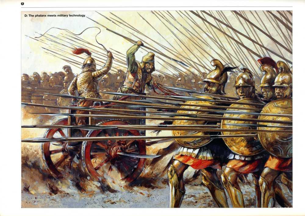 绘画,步兵迎击战车