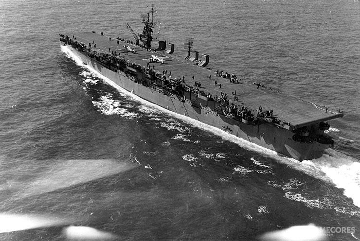 """独立级轻型航母""""兰利""""号(CVL-27)"""