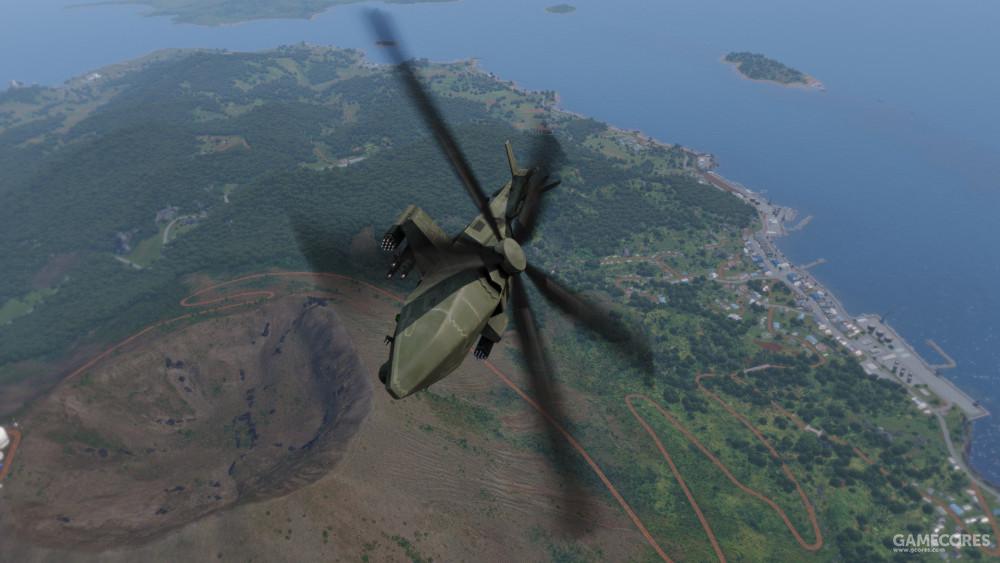机动飞行中的MQ-12