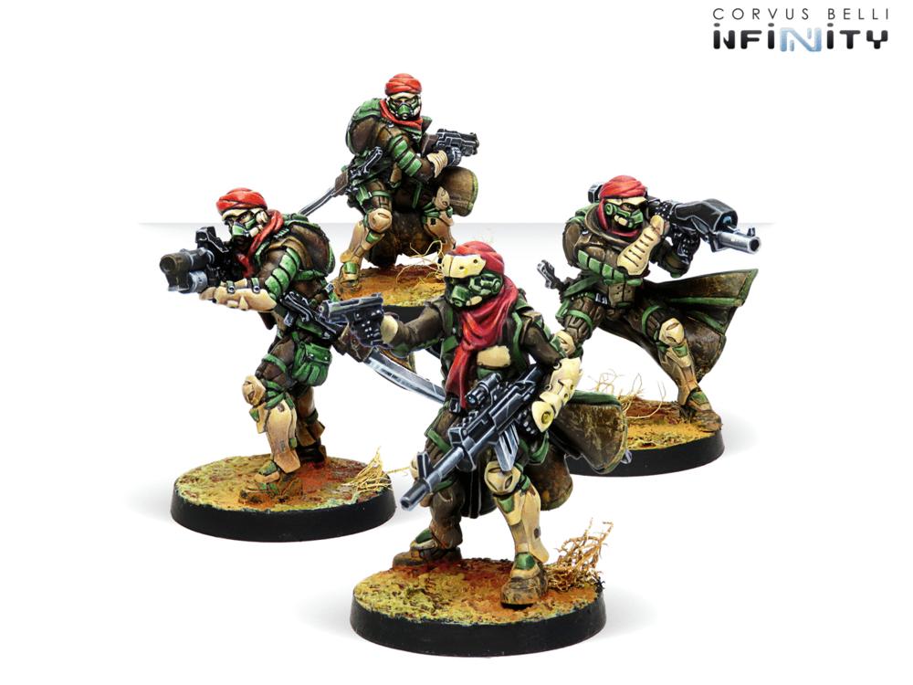 沙漠部队风格的红巾军