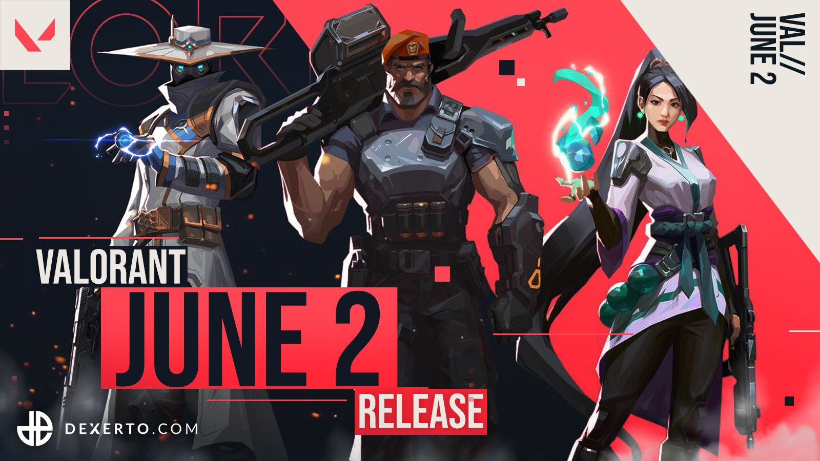 《VALORANT》宣布将于6月2日正式上线