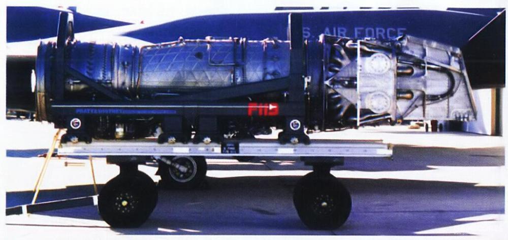 和搭载与YF-22上的发动机喷口唇板情况类似,YF119的内外唇板都安装在发动机尾部。两片唇板都为可动设计,共同调节发动机喷气气流。