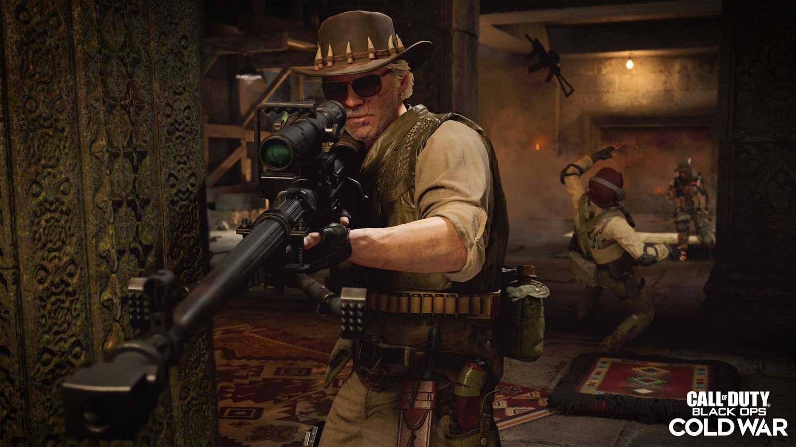 《使命召唤:黑色行动 冷战》与战区迎来第二季,官方警告PS4可能空间不足