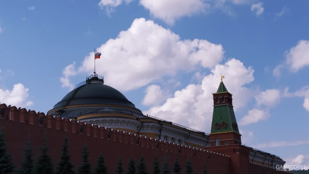 红墙背后的克里姆林宫
