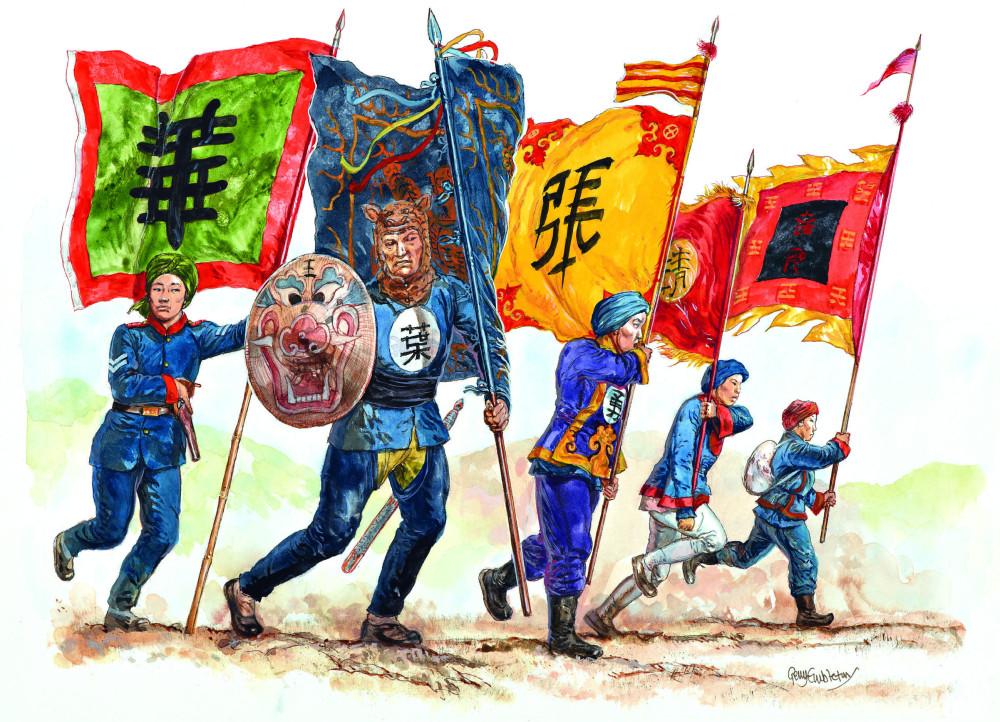 晚清军队不仅先进装备缺乏,战斗力也很成问题