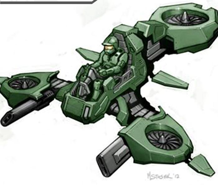 """AV-30""""红隼""""轻型突击垂直起降载具"""