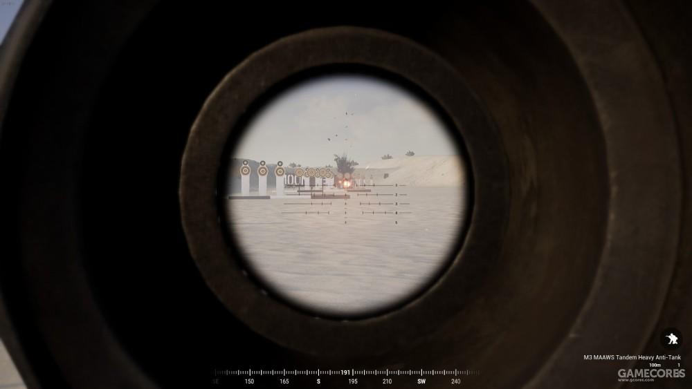 M3 MAAWS瞄具内视角