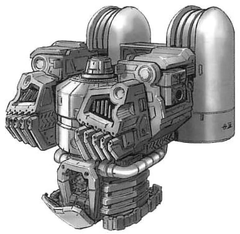 为了容纳大功率核融合炉以及相配套的散热结构。YMS-15的驾驶舱移动到了腹部位置。整体结构非常接近联邦系MS。