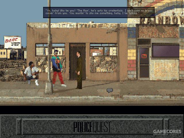 Police Quest: Open Season 游戏画面