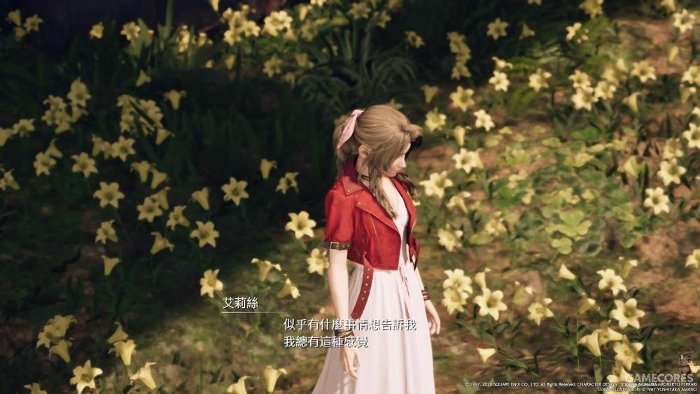 花应该代表的是星球的意志,古代种的能力是和星球对话,星球是想要让爱丽丝知道些东西