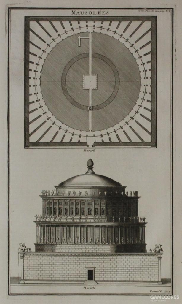 哈德良大帝墓,公元2世纪