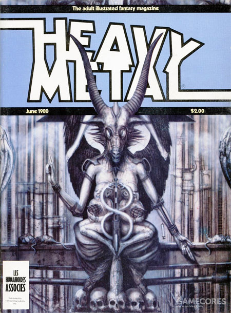 Cover by H.R. Giger,1980年4月刊,美版