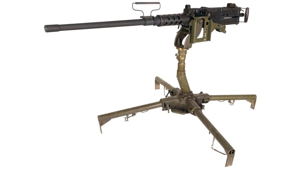 现实中的M2重机枪