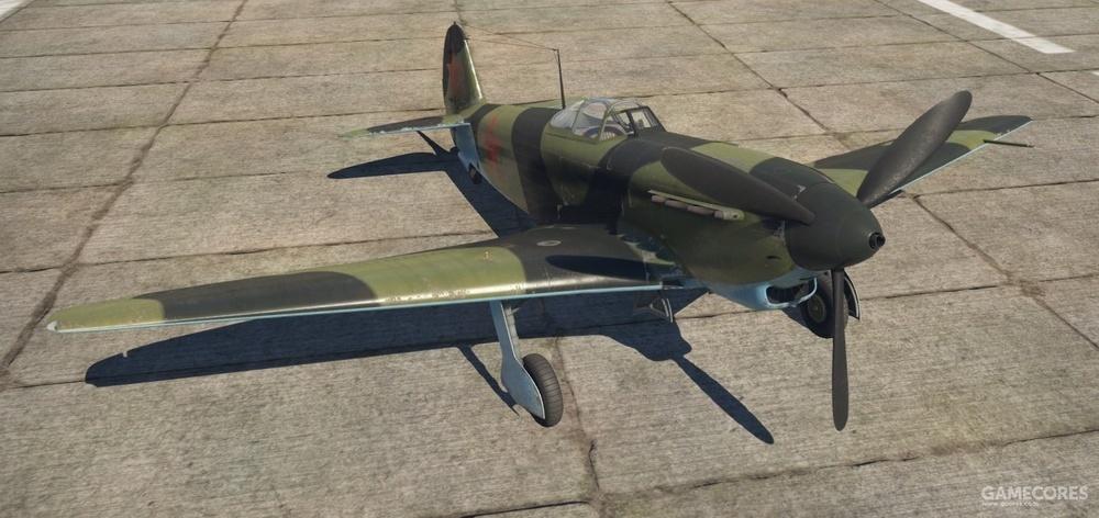 雅克-9战斗机,机头装备一门机炮