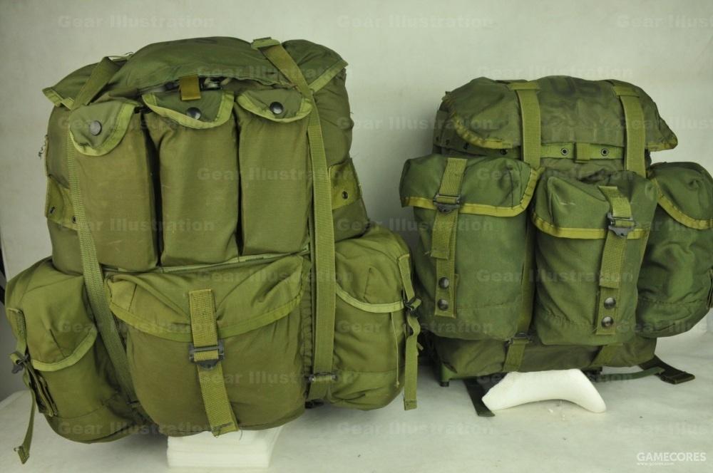 大号和中号背包