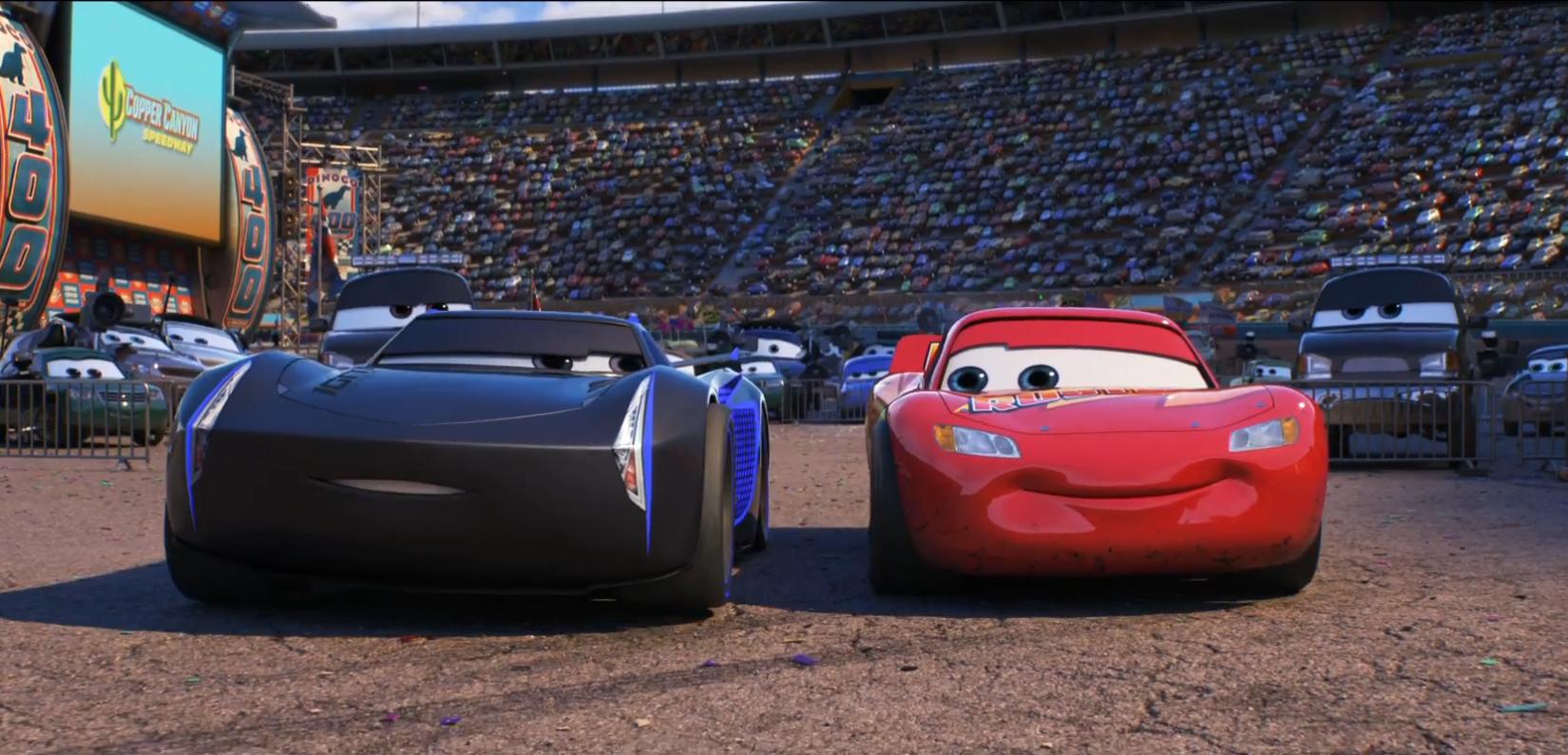 《賽車總動員3》的劇情預告片看著有點意思