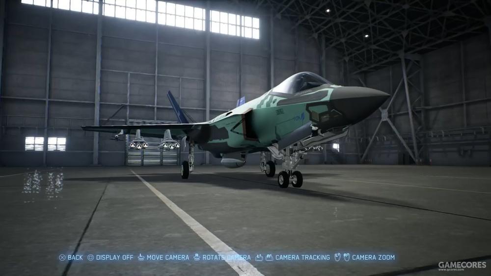 野兽模式挂载的F-35C