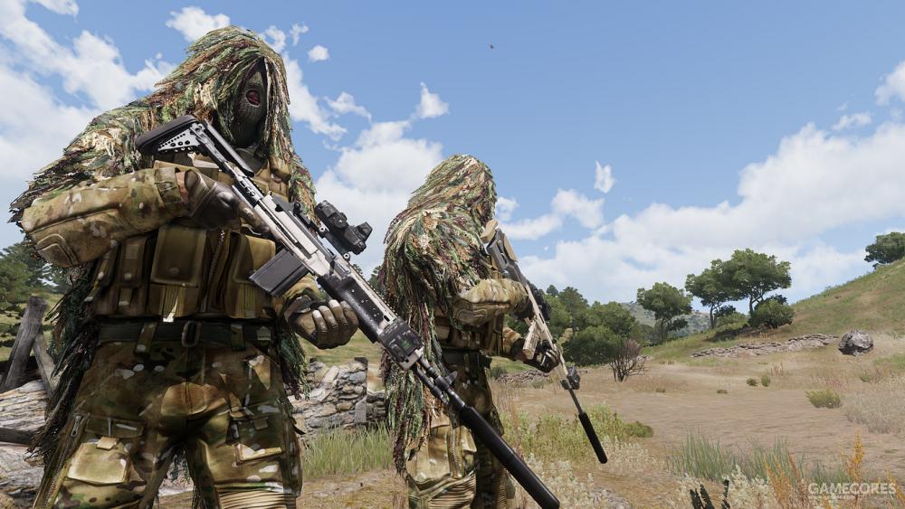 使用Mk18的狙击手