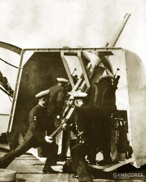 8厘米三年式高炮训练