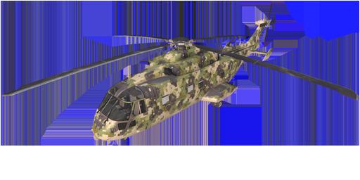 绿色数码迷彩的CH-49