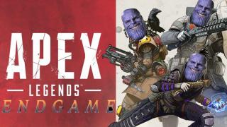 """有人将《复联4》的预告片与《APEX英雄》相结合,上演了一出""""APEX英雄:终局之战"""""""