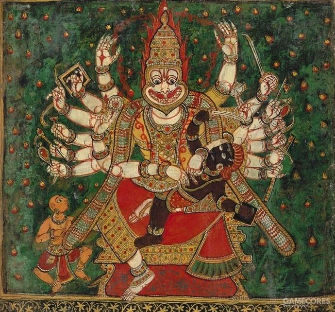 印度神话中的罗刹