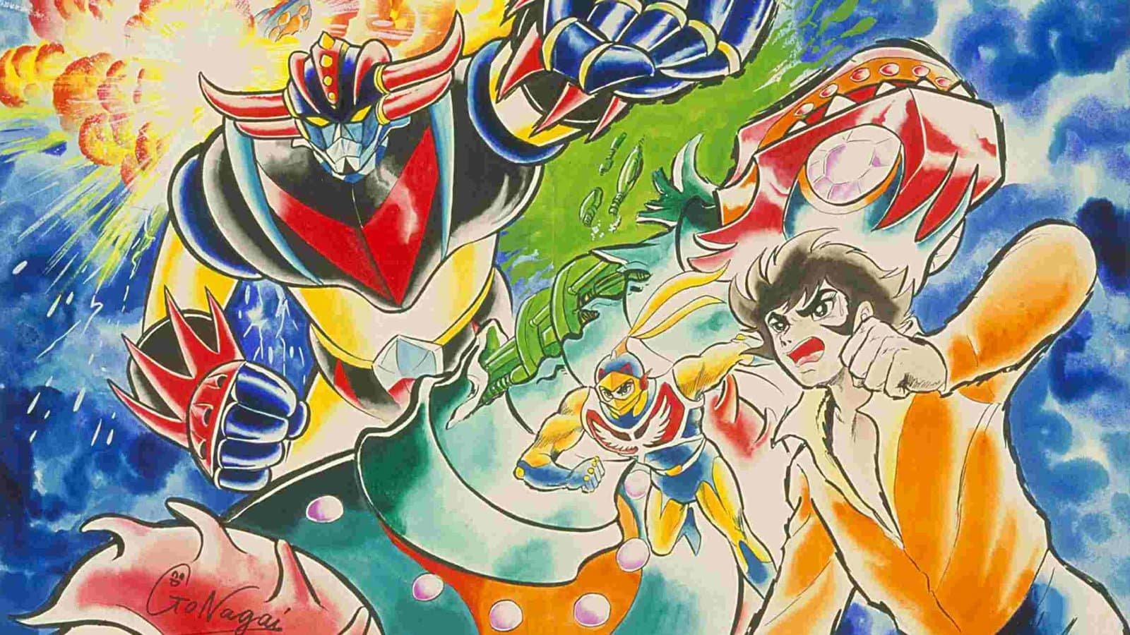 法国人不仅要给永井豪动画名作《UFO 魔神古兰戴萨》做游戏,还要出漫画续集