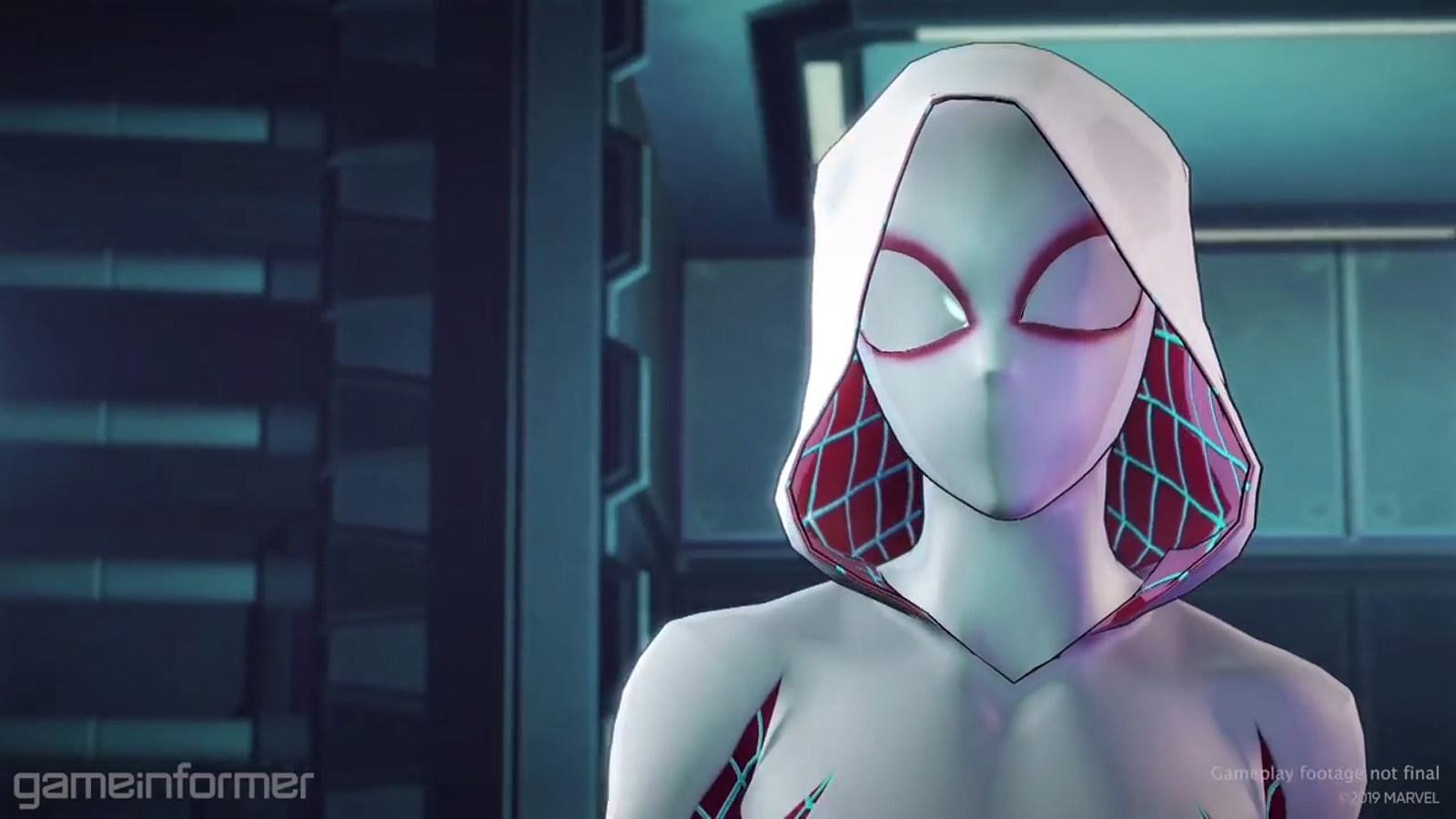《漫威终极联盟3 黑色教团》放出蜘蛛格温游戏试玩视频,游戏将于7月19日发售