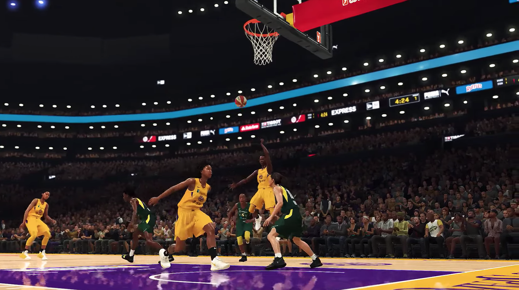 真的有女籃了,《NBA 2K20》將加入所有WNBA的隊伍