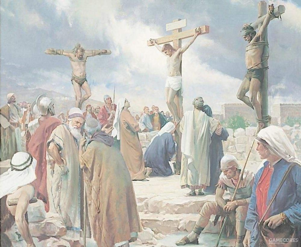 耶稣与两个强盗
