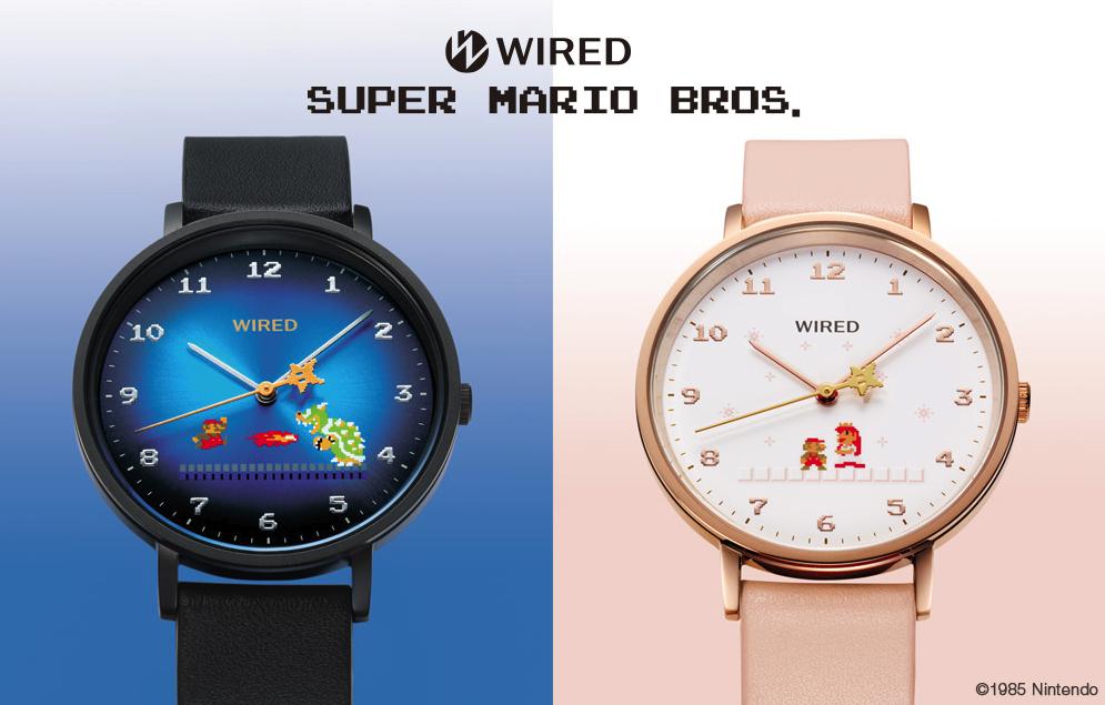 WIRED再推《马力欧》主题手表,12月8日发售