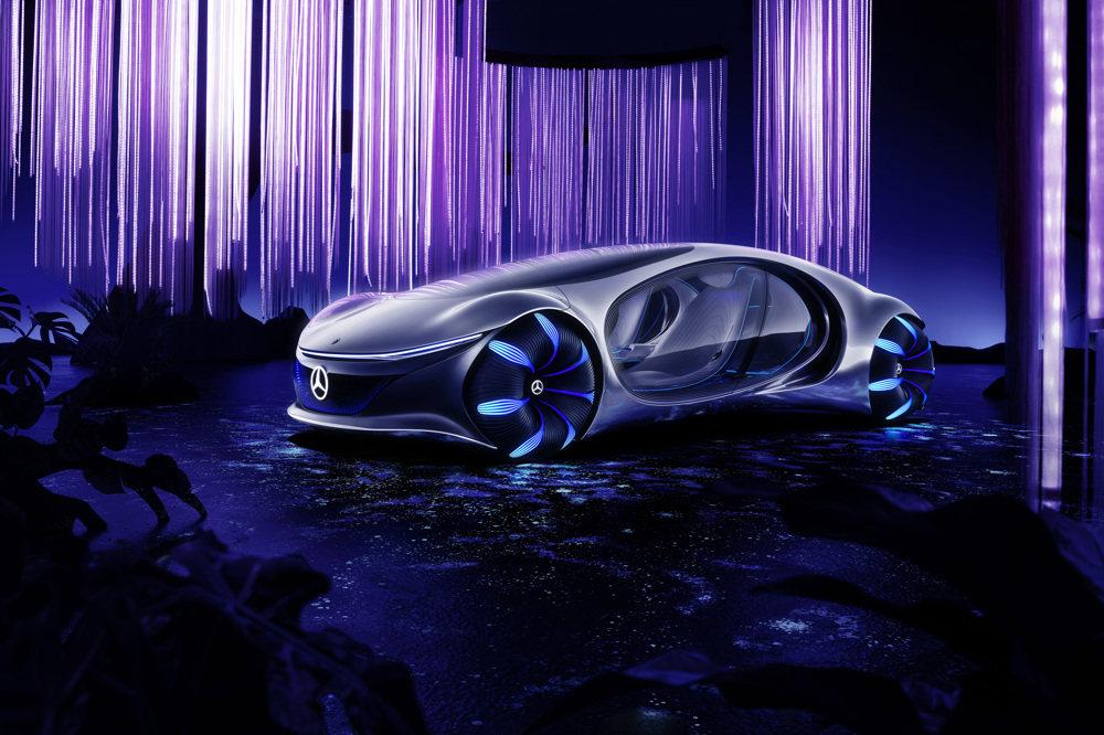 """受""""阿凡达""""启发而设计的概念电动车,奔驰公开""""VISION AVTR"""""""