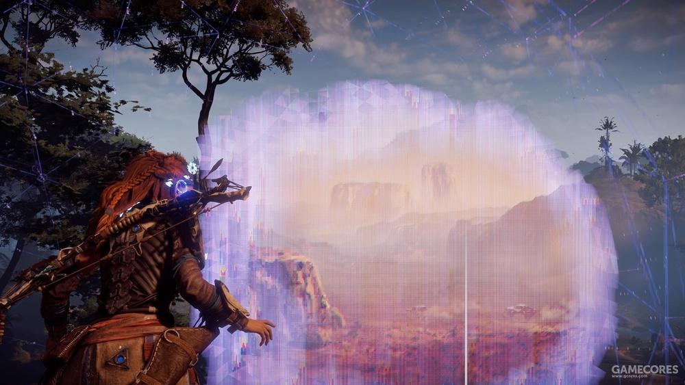 游戏中的纪念碑谷瞭望点