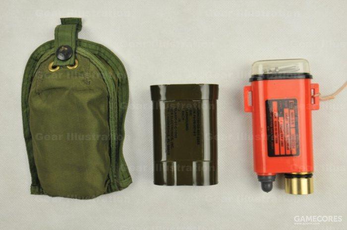 SDU-5/E求生灯以及配套的携行包