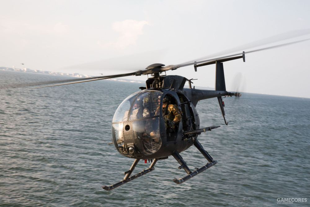 现实中的MH-6