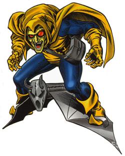 Hobgoblin是蜘蛛侠的死敌之一