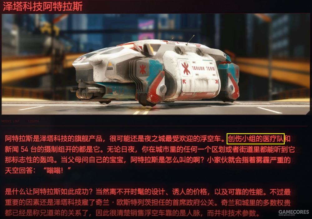 创伤小组采用的浮空车