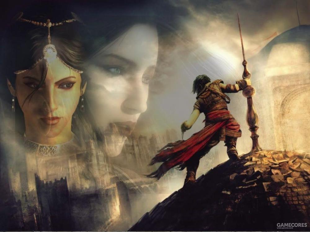 《波斯王子》时之沙三部曲,主题从发现时之沙到改变命运,最后完成王子的救赎