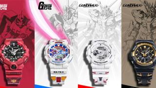 G-SHOCK推出4款高达主题手表,感觉你会喜欢