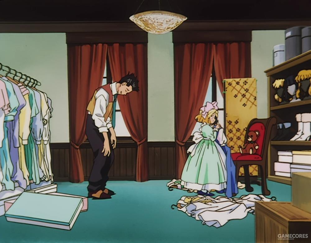 给艾丽丝挑衣服